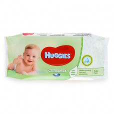 Huggies Baby Wipes Refill 1 Pack 56Ct Natural Care