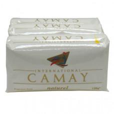 Camay S/Bar 3Pk 1 Pack 4.5Oz (125G) White Natural