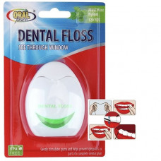 Oral Fusion Dental Floss 1 pack 120 Yards Mint