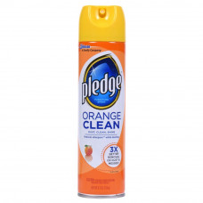 Pledge 1 Pack 9.7Oz Furniture Cleaner Orange Clean