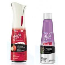 Glade Expressions Fragrance Mist 8 Pack 7Oz Starter Fuji Apple & Cardamon Spice