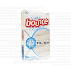 Bounce Sheets 1 pack 34Ct Free & Gentle