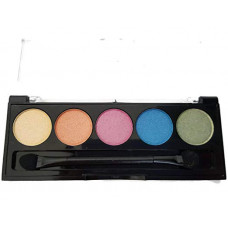 L.A. Colors 5 Colors Metallic Eyeshadow 1 pack 1Ct Tease