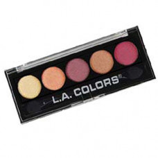 L.A. Colors 5 Colors Metallic Eyeshadow 1 pack 1Ct Fabulous