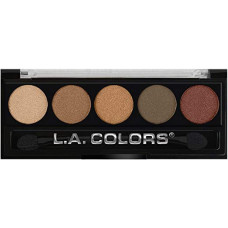 L.A. Colors 5 Colors Metallic Eyeshadow 1 pack 1Ct Tea Time