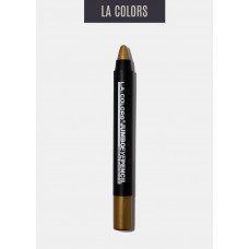 L.A. Color Jumbo Eye Pencil Long Lasting Wear 1 pack 1Ct Bronze Shimmer