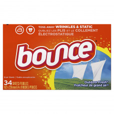 Bounce Sheets 1 pack 34Ct Outdoor Fresh
