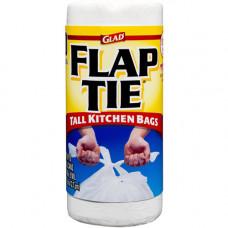 Glad Tall Kitchen 13Gallon 1 Pack 40Ct  Flap-Tie