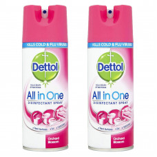Dettol Disinfectant Spray 1 Pack 400Ml Orchard Blossom
