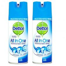 Dettol Disinfectant Spray 1 Pack 400Ml Crisp Linen
