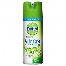 Dettol Disinfectant Spray 1 Pack 400Ml Spring Waterfall