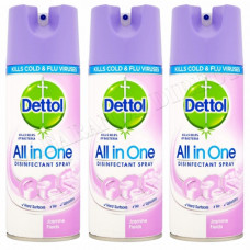 Dettol Disinfectant Spray 1 Pack 400Ml Jasmine Field