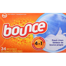 Bounce Sheets 1 pack 34Ct Fresh Linen