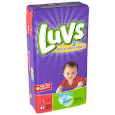 Luvs Diapers Jumbo 2 pack 48Ct With Night Lock #1