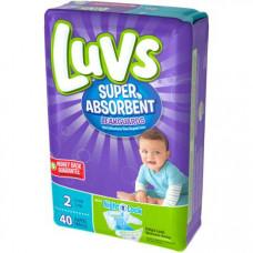 Luvs Diapers Jumbo 2 pack 40Ct With Night Lock #2