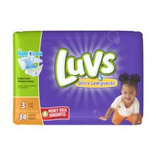 Luvs Diapers Jumbo 4 Pack 34Ct With Night Lock #3