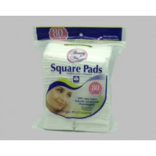 U Cosmetic Cotton Pads 1 Pack 80Ct Square Beauty For You