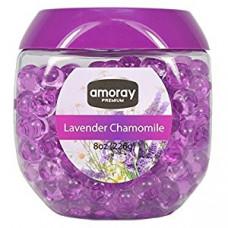 Amoray Premium Crystal Beads 1 Pack 8Oz Lavender Chamomile