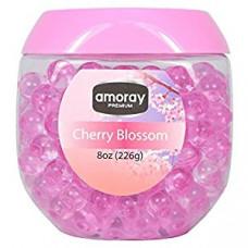 Amoray Premium Crystal Beads 1 Pack 8Oz Cherry Blossom