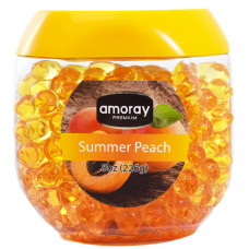 Amoray Premium Crystal Beads 1 Pack 8Oz Summer Peach