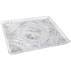 Crystal Look Rectangular Tray 13x10.63 1 Pack 1Ct Made In Austria