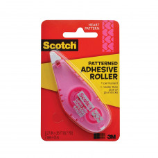 3M Scotch Heart Smart Adhesive Roller 1 pack 1Ct