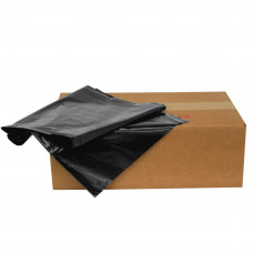 Trash Bags 1 pack 250Ct 16X14X36 1.4Ml Black 30 Gallon