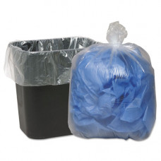 Trash Bags 1 pack 100Ct 23X10X39 1.3Ml Clear 35 Gallon