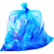 Trash Bags 23X17X46 Heavy Blue 1 pack 100Ct 45 Gallon