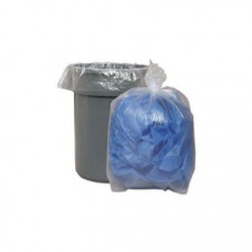 Trash Bags 23X17X46 Heavy Clear 1 pack 100Ct 45 Gallon