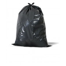 Trash Bags 1 pack 100Ct 23X17X58 3Ml Black 55 Gallon