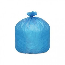 Trash Bags 22X14X58 1.5Ml Blue 1 pack 100Ct 55 Gallon